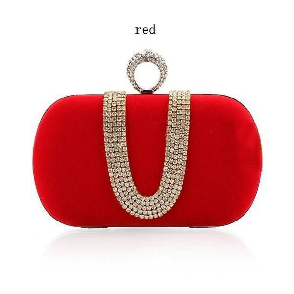 Mixed Styles Luxury Crystal  Evening Bags