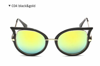 Accentuated Rim Ladies Sunglasses Bling - High Maintenance Bitch