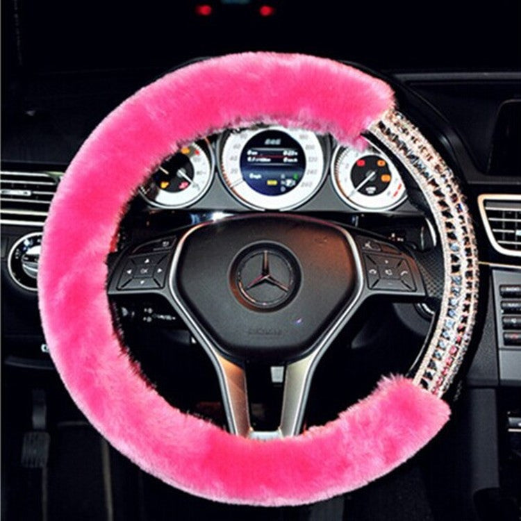 Fashion Diamond Car Steering Wheel Cover Bling - High Maintenance Bitch