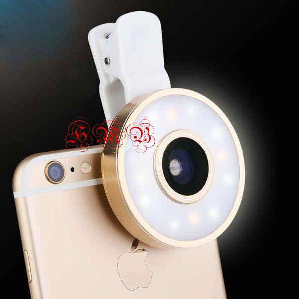 Universal Clip 4-in-1 Cell Camera Lens Kit Bling - High Maintenance Bitch