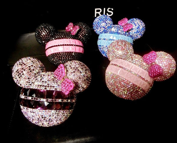 Bling Mouse Ears Power Bank USB Portable External Battery Charger Bling - High Maintenance Bitch