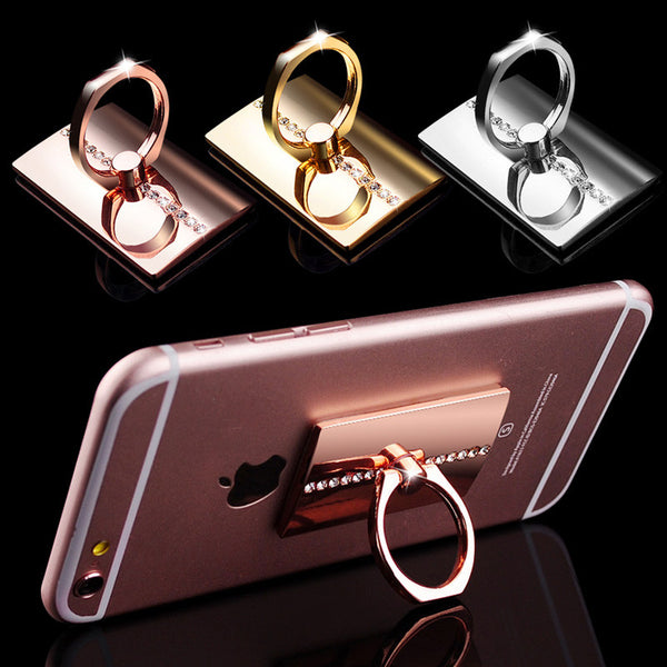 Elegant Smartphone Kick Stand Bling - High Maintenance Bitch
