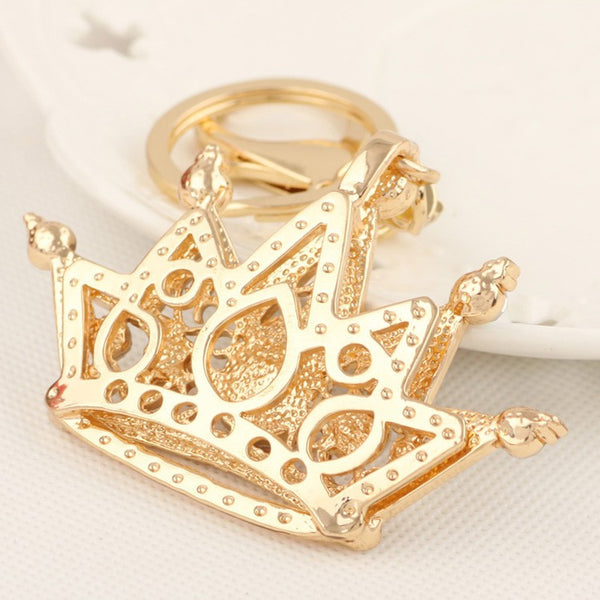 Luxurious Bling Crystal Crown Purse Charm/Key Chains