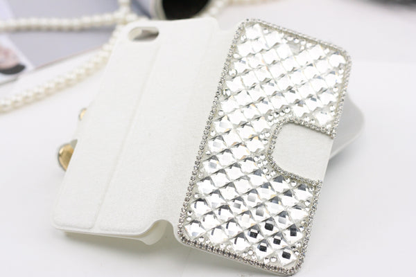 Bling iPhone Wallet Case Bling - High Maintenance Bitch