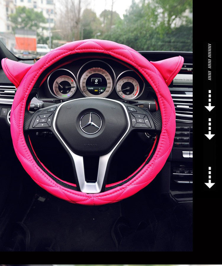 Cute Cat Car Steering Wheel Cover Bling - High Maintenance Bitch