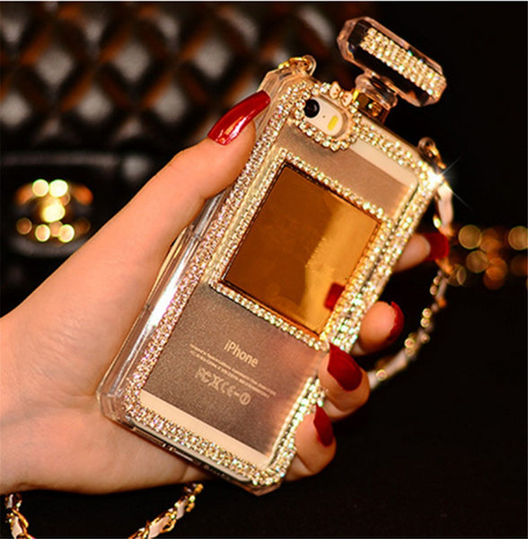 Luxury Glam Bling Perfume Bottle Case Bling - High Maintenance Bitch