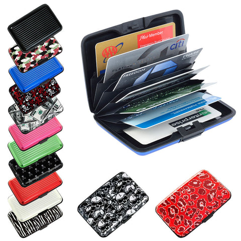 Aluminum Credit Card Holder RFID Protection