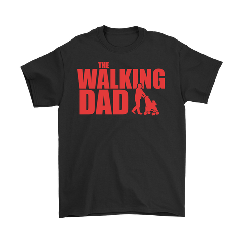 The Walking Dad Mens Tshirt