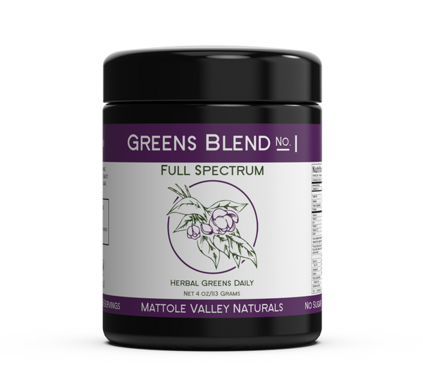 Greens Blend - Full Spectrum - Clearance