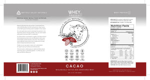 Whey Protein - Raw Cacao