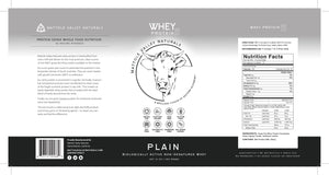 Whey Protein - Plain - Wholesale