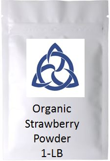 Strawberry Powder - Organic - Bulk
