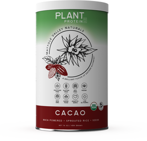 Vegan Plant Protein - Raw Cacao