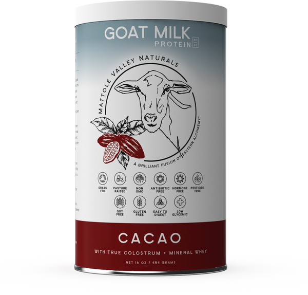 Goat Milk Protein - Raw Cacao