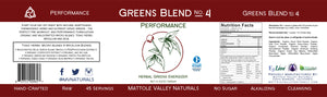 Greens Blend - Performance - Wholesale