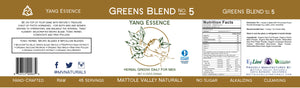 Greens Blend - Yang Essence - Wholesale