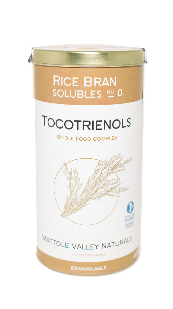 Soluble rice bran