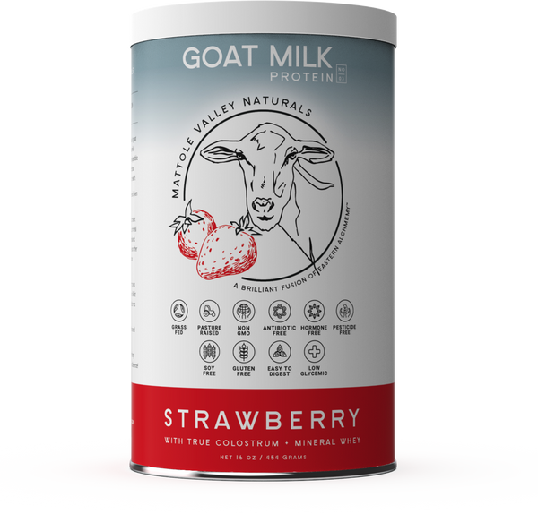 Goat Milk Protein - Strawberry - Clearance