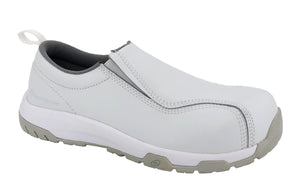 Specialty ESD White Composite Toe SD10 Slip On Work Shoe