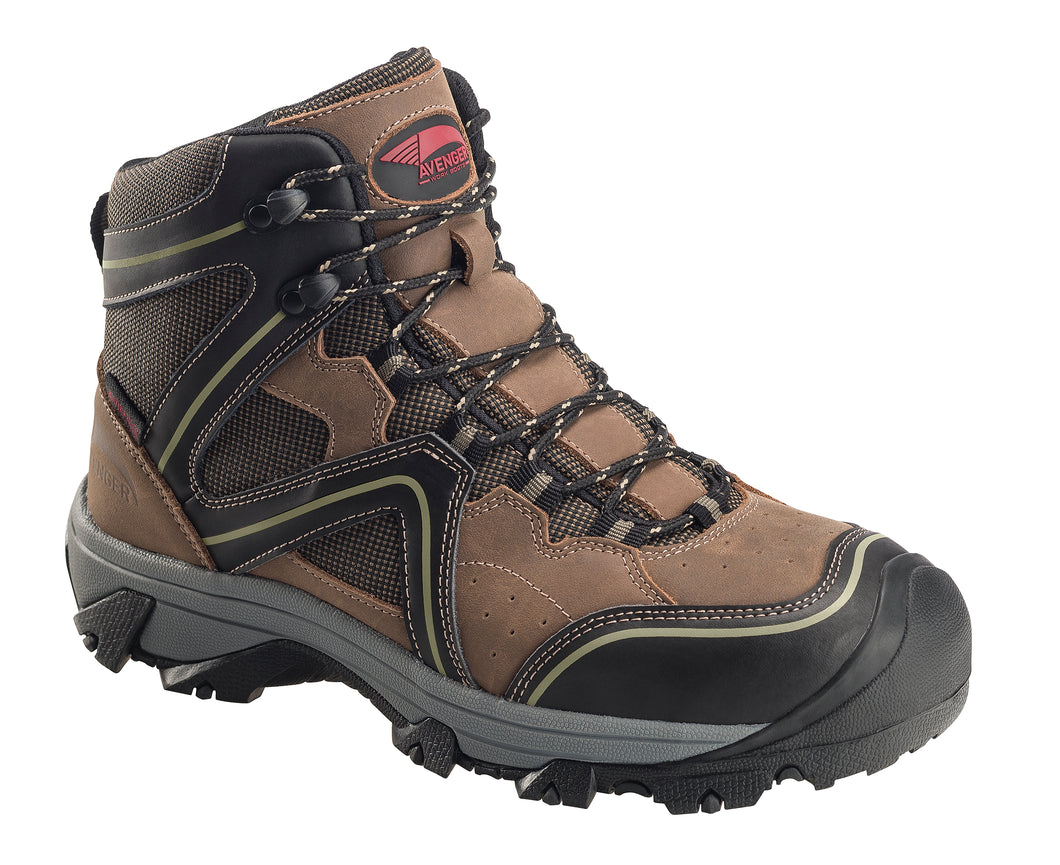 Crosscut Brown Soft Toe EH PR WP 6