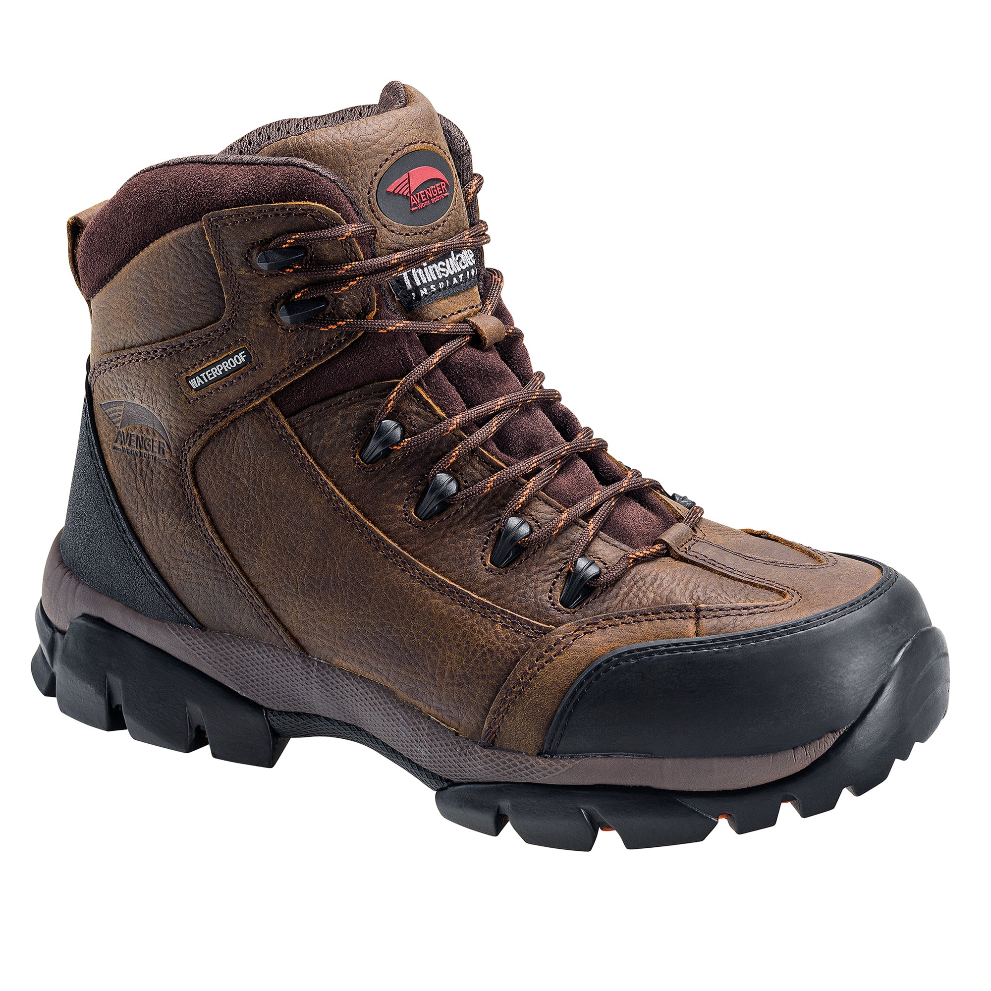 Brown Soft Toe EH WP Insulated 6