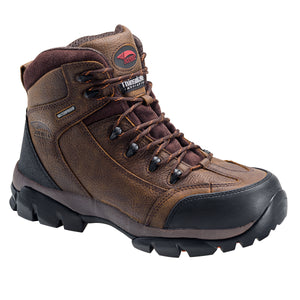 "Brown Soft Toe EH WP Insulated 6"" Work Boot"