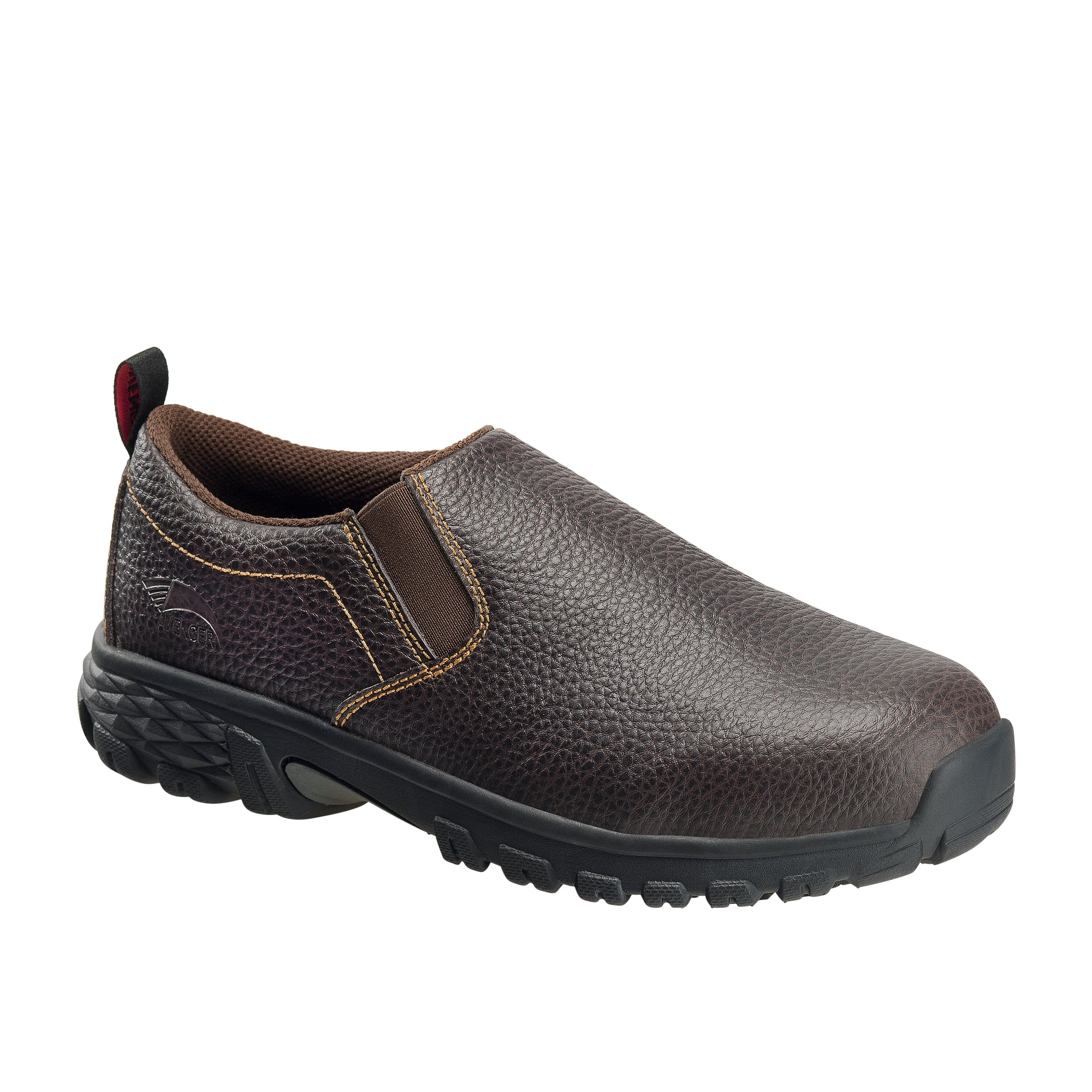 Flight Brown Alloy Toe SD10 Slip-On Work Shoe
