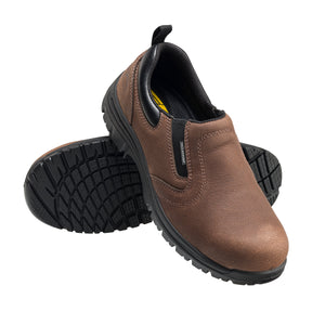 Foreman Brown Composite Toe EH WP Slip On Work Shoe
