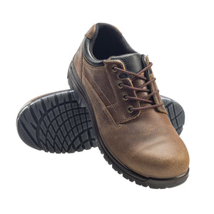 Foreman Brown Composite Toe EH Oxford Work Shoe