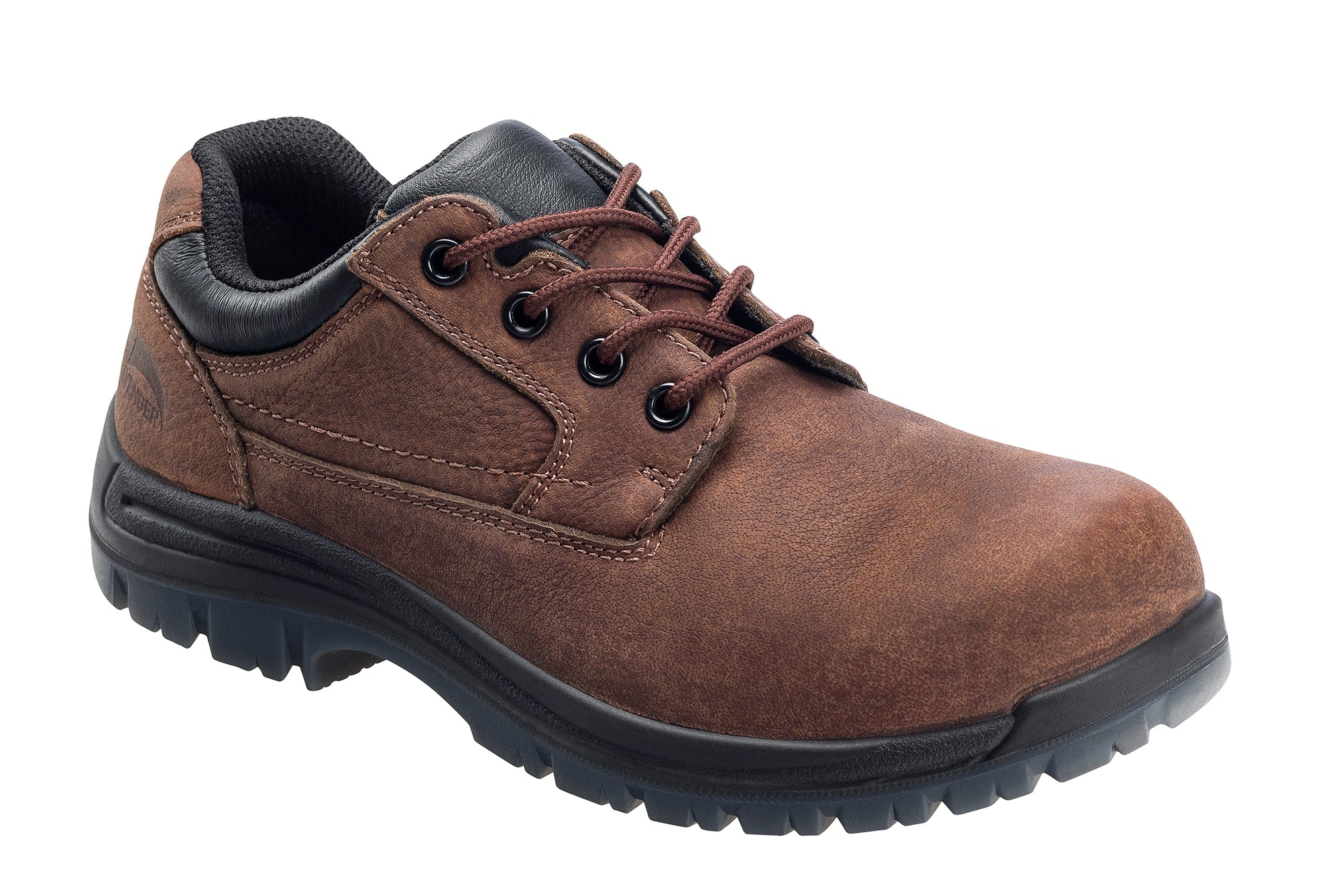 Foreman Brown Composite Toe EH WP Oxford Work Shoe