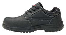 Foreman Black Composite Toe EH WP Oxford Work Shoe