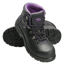 "Women's Framer Black Steel Toe EH WP 6"" Work Boot"