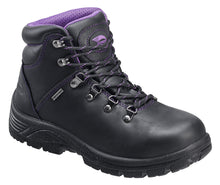 Women's Leather, Waterproof Slip Resistant Safety Toe EH Hiker