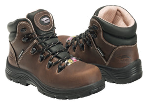 "Women's Framer Brown Composite Toe EH PR WP 6"" Work Boot"