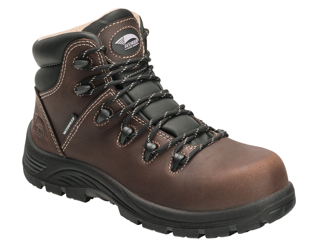 Women's Framer Brown Composite Toe EH PR WP 6