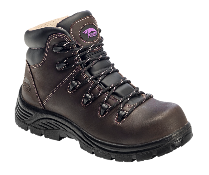Women's Framer Brown Composite Toe EH PR WP Insulated 6