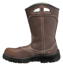 "Women's Framer Brown Composite Toe EH WP 10"" Wellington"