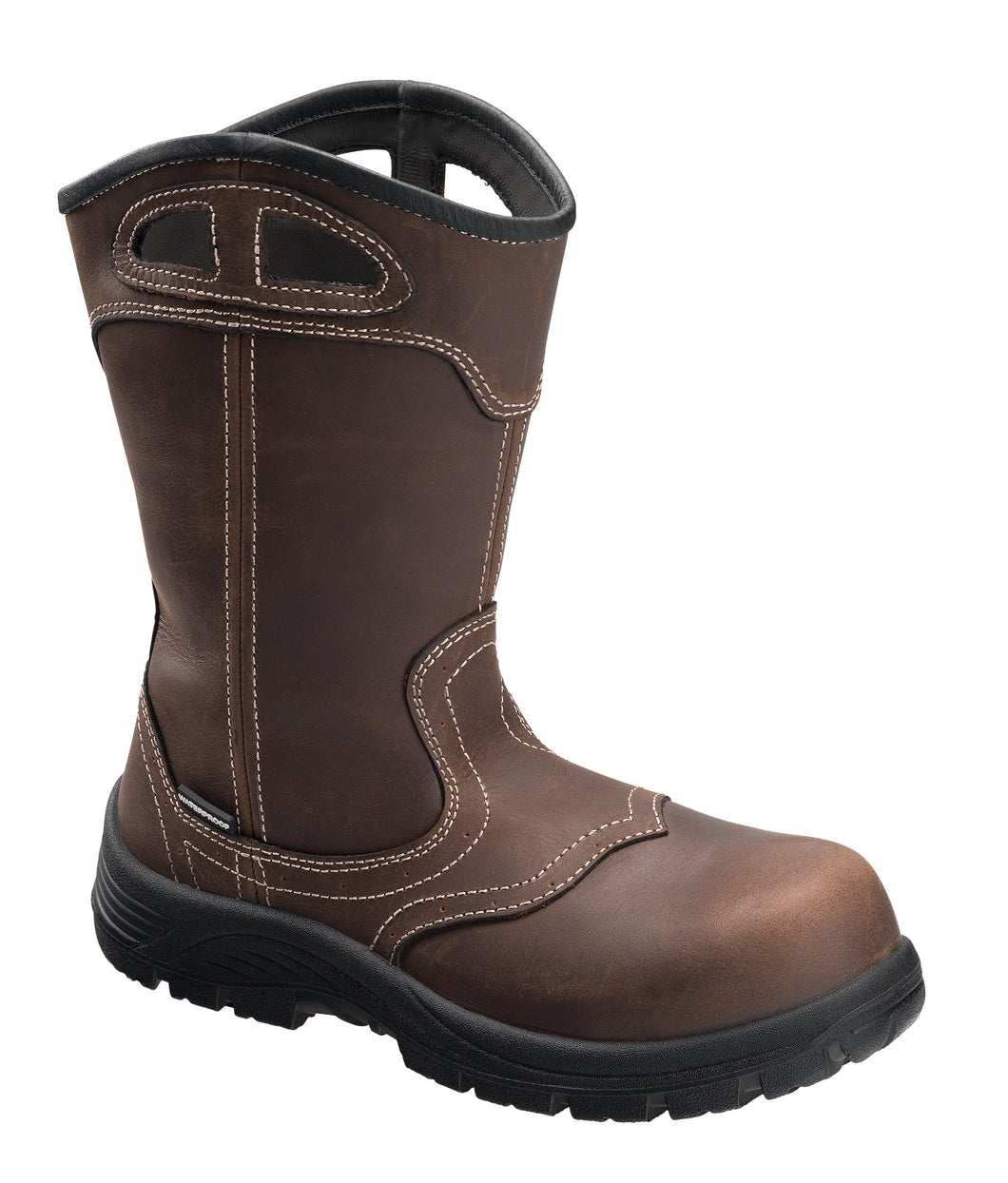 Women's Framer Brown Composite Toe EH WP 10