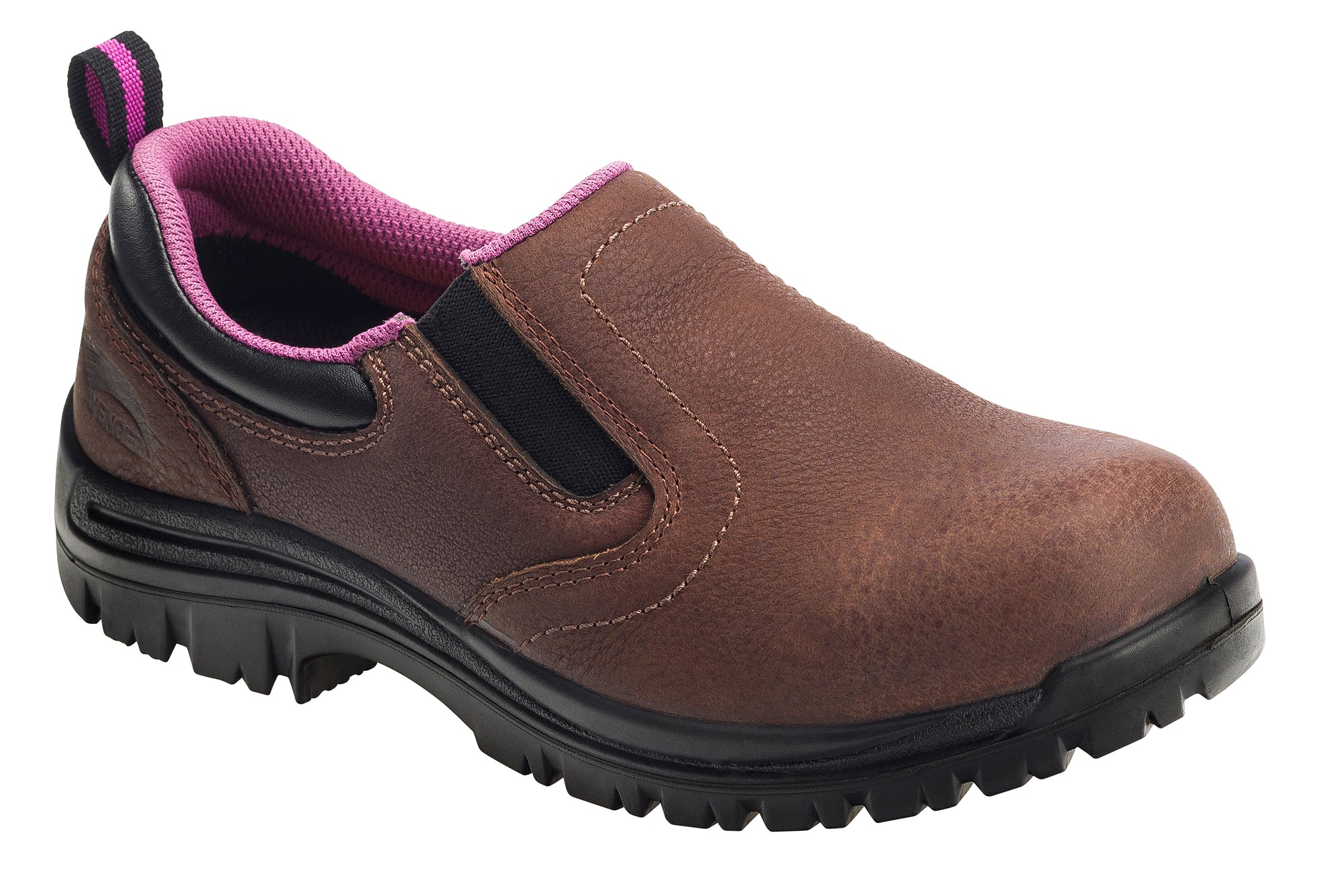 Women's Comp Toe Waterproof EH Slip Resistant Slip On