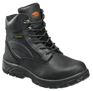 "6"" Leather and Cordura EH Waterproof Slip Resistant Soft Toe Work Boot"