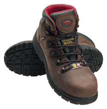 "Framer 6"" Leather Composite Toe 400g Insulated Work Boot"