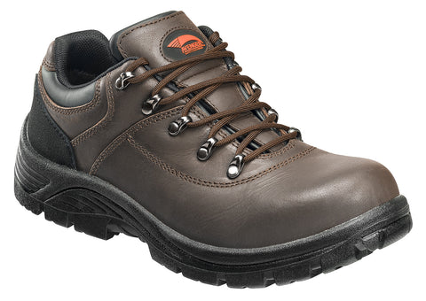 Leather Waterproof Slip Resistant EH Safety Toe Oxford