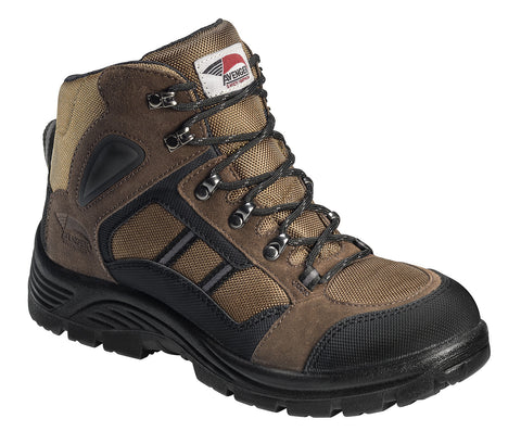 Mesh and Suede Leather Slip Resistant Safety  Toe EH  Hiker