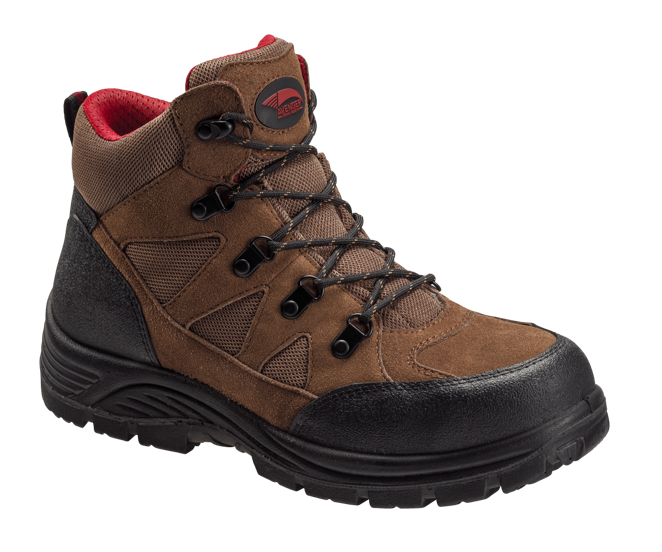 Brown Steel Toe EH 6