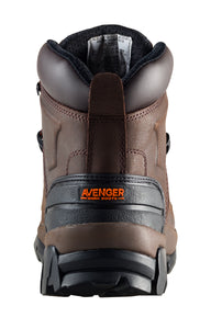"6"" Leather Safety Toe EH Work Boot"