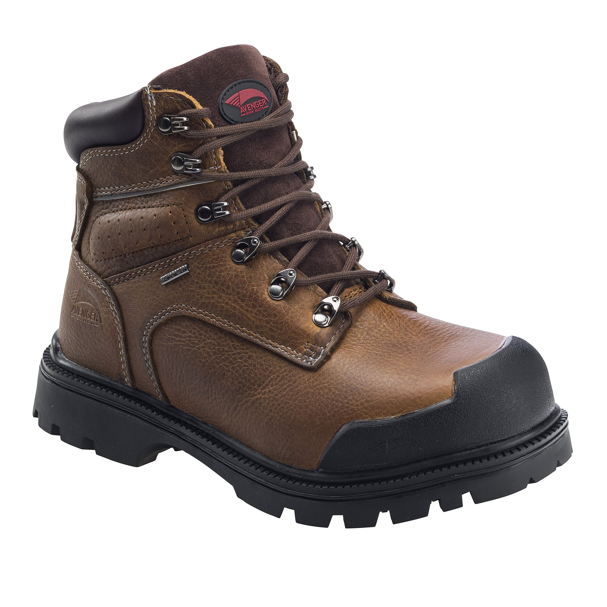 Brown Steel Toe EH PR WP 6