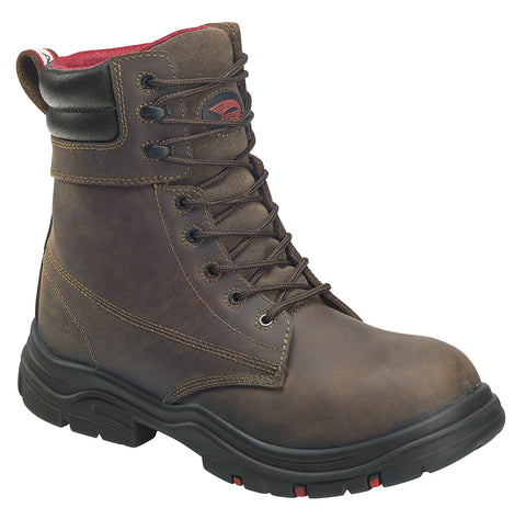 "8"" Leather Waterproof  EH ""Hoss Wide Body"" Comp Toe Work Boot"