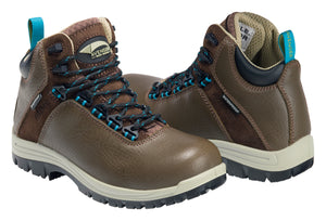 "Women's Breaker Brown Composite Toe EH PR WP 6"" Work Boot"