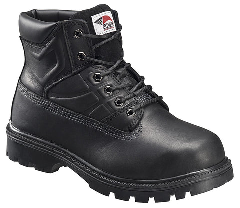 Leather Safety Toe EH Internal Met Guard High Heat Outsole Work Boot