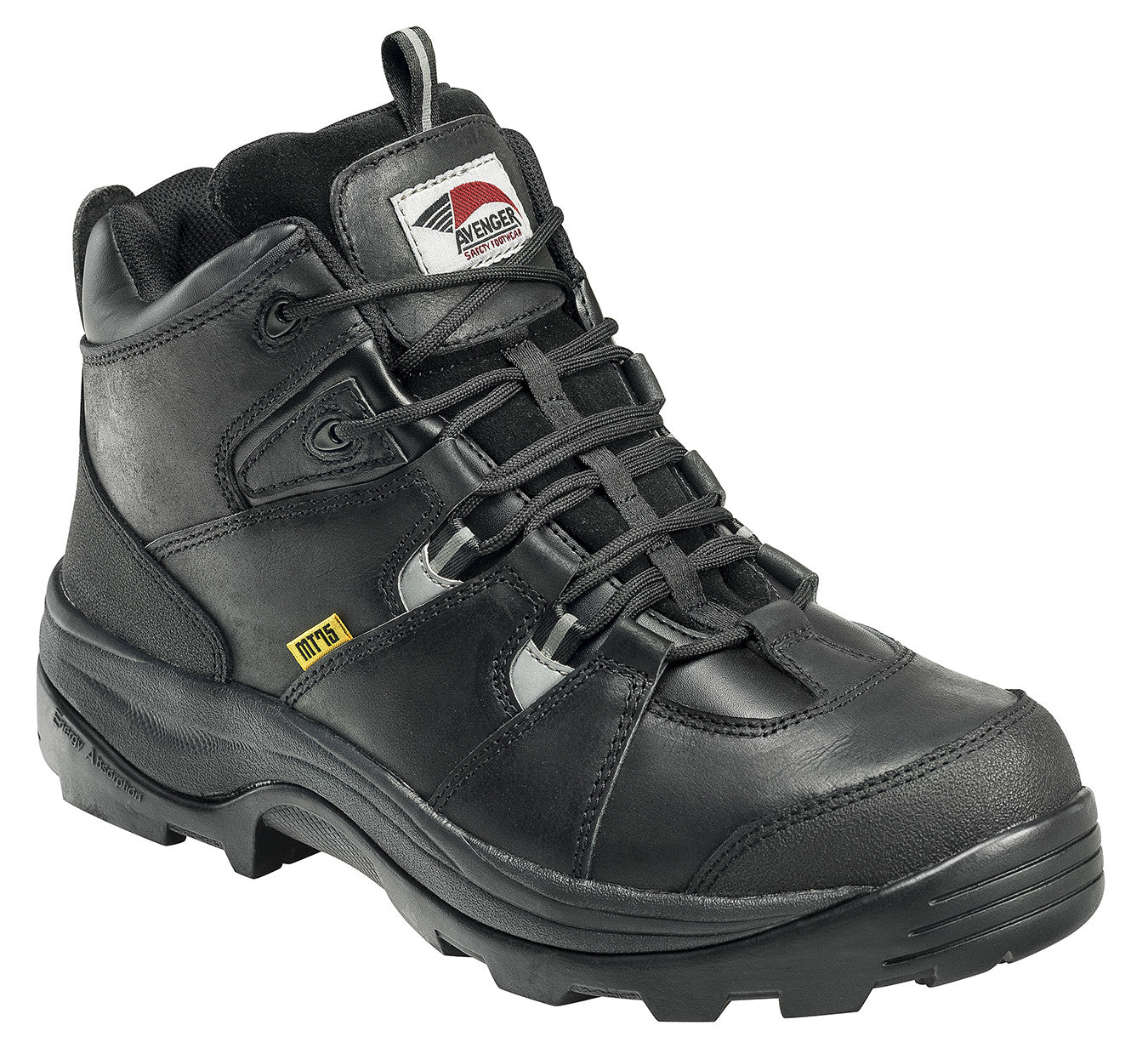 Leather  Safety Toe EH Internal Met Guard Work Boot